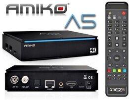 Amiko A5 combo HEVC