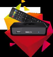 Infomir MAG 254 W1 (Wifi) IPTV BOX