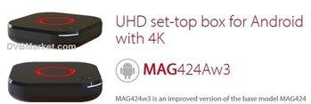 Infomir MAG 424A w3 4K