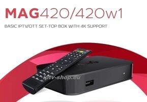 Infomir MAG420w1 4K (Wifi)