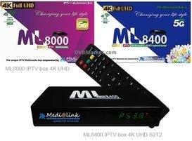 Medialink ML 8000 4K IPTV H265