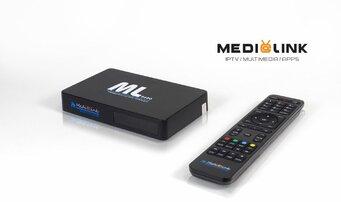 Medialink ML 8400 S2T2 4K IPTV H265