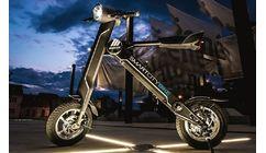 Antik SmartCity Bike Cierny 350W