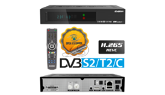 Edision OS Mini Plus DVB-S2/T2/C H.265