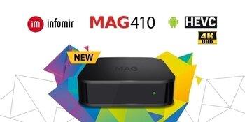 Infomir MAG 410 4K IPTV